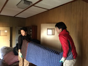 家具を移動させるスッキリドクター